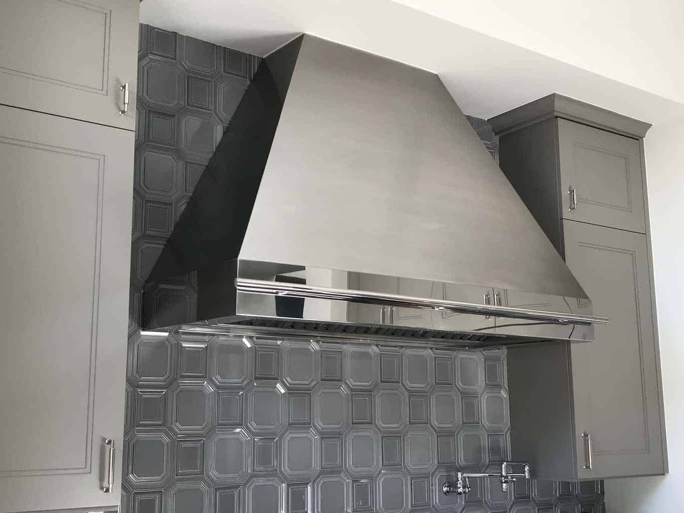 All Stainless Steel Hood
