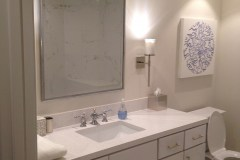 Bathrom, vanity, white bathroom