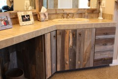 Reclaimed Wood Cabinetry