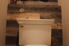 Reclaimed Wood bathroom