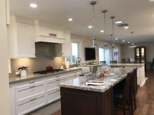Island in New Kitchen