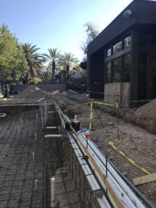 Pool ready for concrete