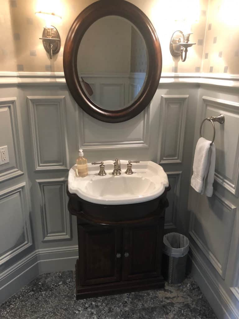 Powder Room Before Remodel