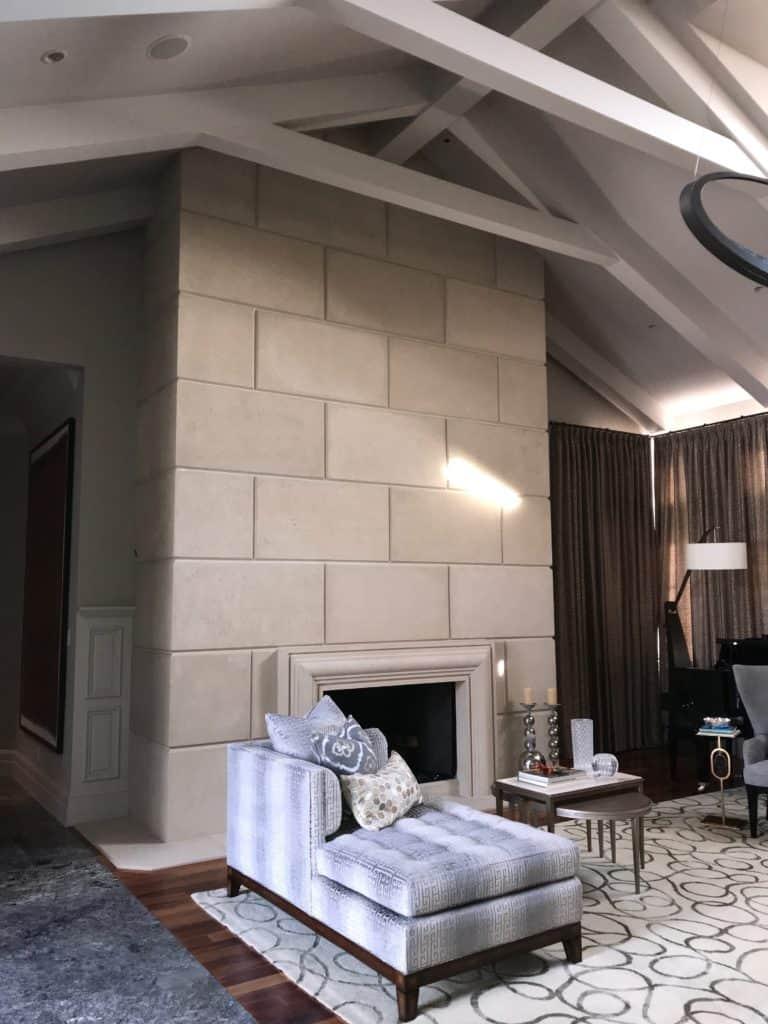 New Fireplace wall